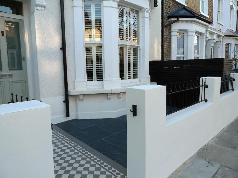 Fulham Brick Walls And Metal Rails Amp Gates Landscape