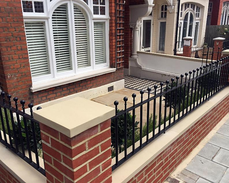 Fulham Brick Walls And Metal Rails Amp Gates Landscape